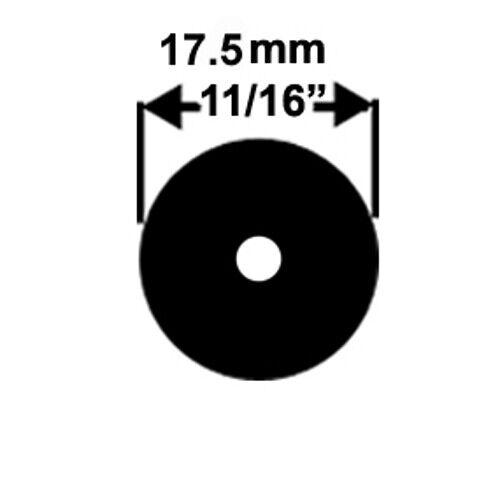 "BLACK Speargun Band Rubber Latex Tubing RUBR-18MM-03BK 0.9m 17.5mm x11//16/"" 3ft"