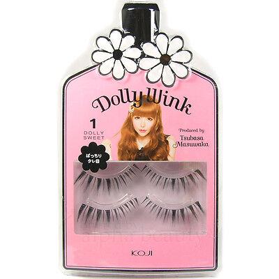 Koji Japan Dolly Wink Tsubasa Makeup Eyelash Kit (2 pairs)