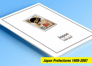 COLOR-PRINTED-JAPAN-PREFECTURES-FURUSATO-1989-2007-STAMP-ALBUM-77-ill-pages