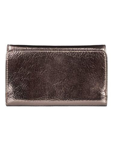 Haut femme ROXY Sac Nouveau Juno métal or carte de crédit pièce argent porte 9 S 54 MCP0