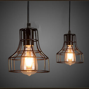 Details About Vintage Lamp Shades Retro Pendant Living Room Ceiling Light Fixtures