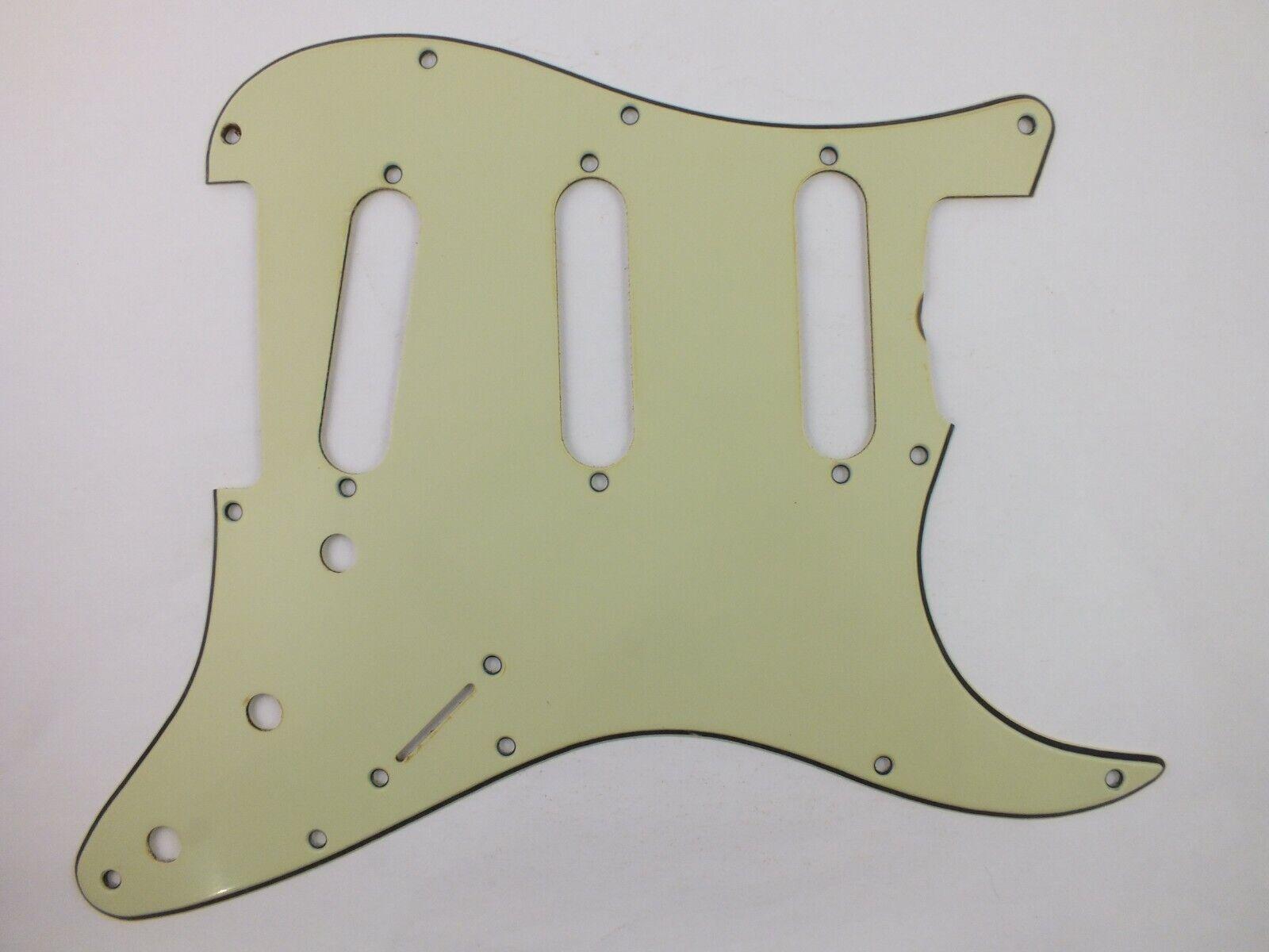 Aged NOS Mintgrün Schlagbrett  4 für 1964 USA Fender Stratocaster Gitarre