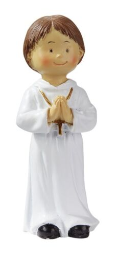 Kommunion Konfirmation Firmung Tortenfigur Tortendeko Junge 8,5 cm stehend 065