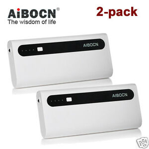 2-pack-10000mAh-Portable-Power-Bank-Backup-Battery-For-iPhone-6-7-Samsung-S10-S7