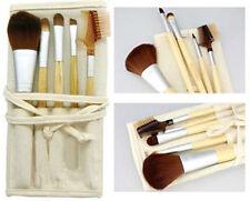 EcoTools Bamboo Makeup Brush Set 6pcs Blush Eye shadow Make Up Brushes 5 +1 Bag