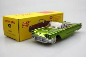 Green-Ford-555-DEA-Dinky-Toys-1-43-Ford-thunderblrd-Aleacion-Coche-Modelo-Roadster
