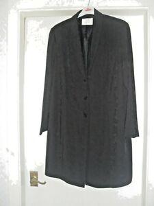 Size-18-BNWOT-ANN-HARVEY-Black-3-4-lightweight-jacket