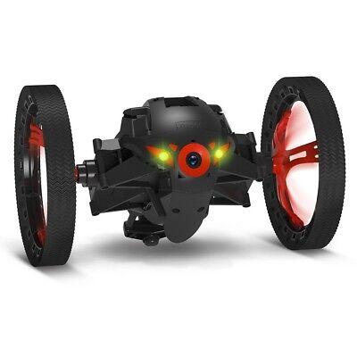 Parrot Jumping Sumo Drone Minidrohne 7 Km/h LED Licht Wlan Kamera Schwarz