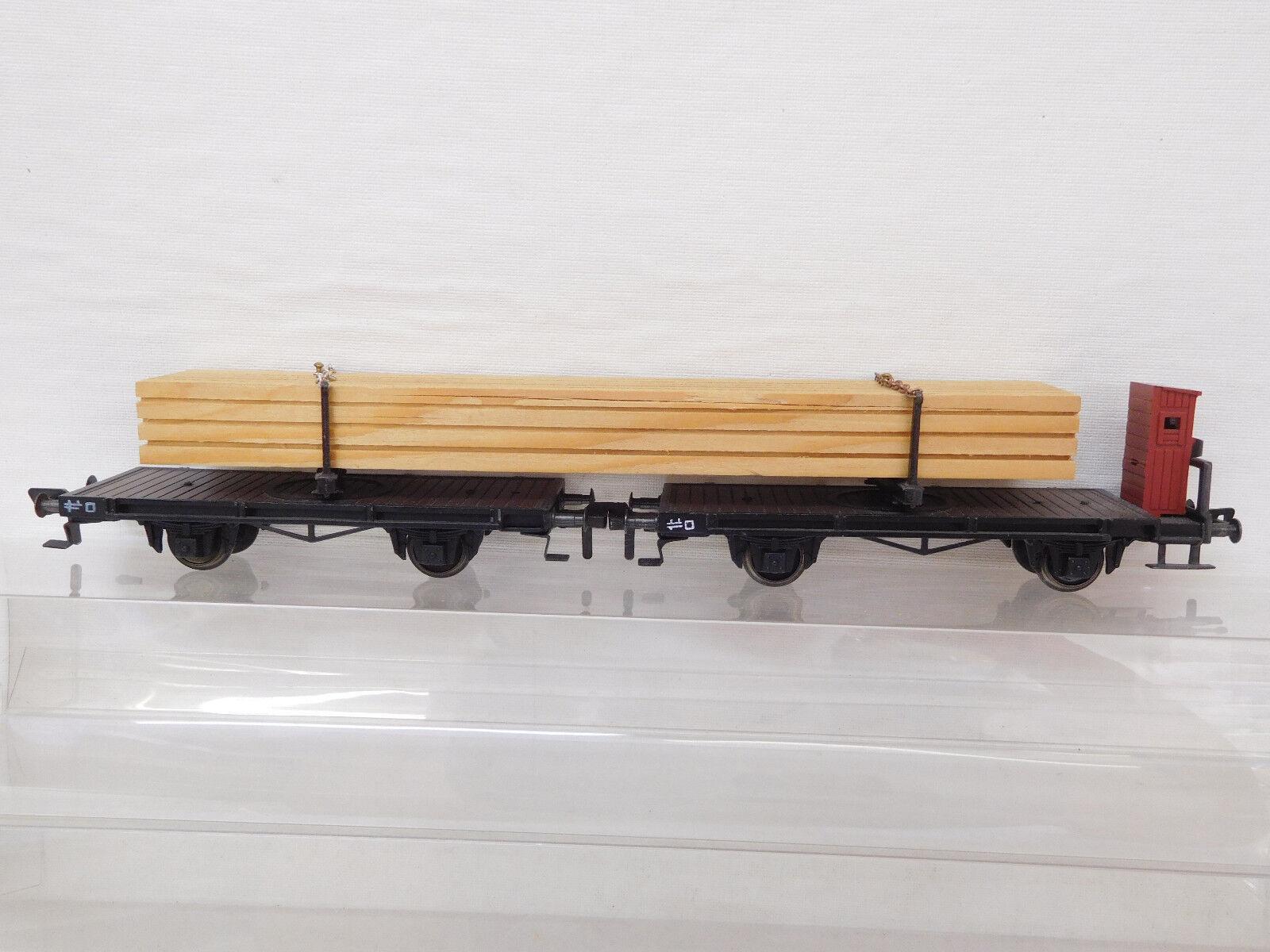 MES-54693 Fleischmann 1493 H0 Holztransport sehr guter Zustand  | Spezielle Funktion