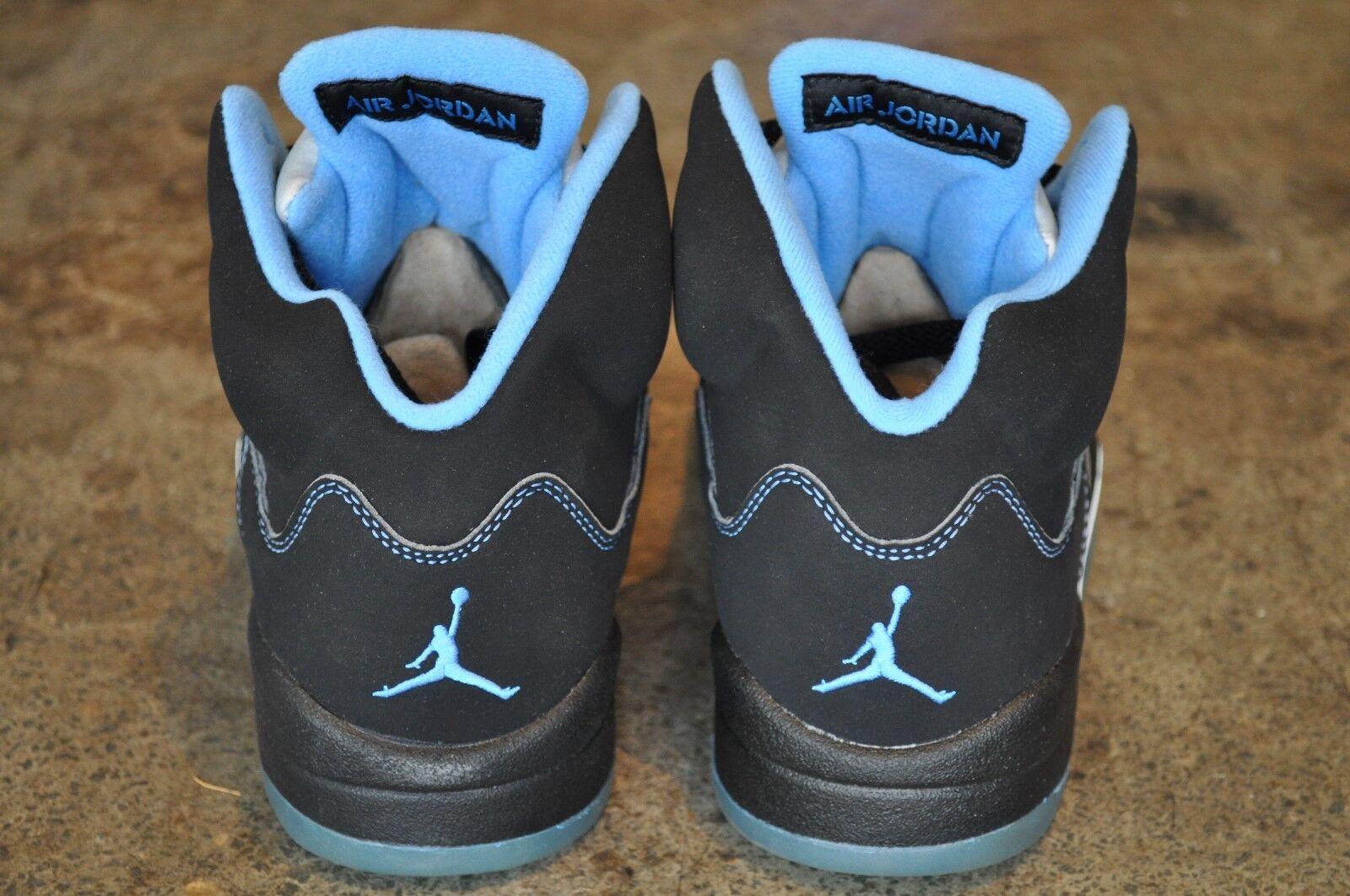 Nike LS Air Jordan 5 Retro LS Nike 2006 - Black/University Blue-White 7dac2e