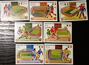 Guinea, imperf, Soccer, Football World Cup, 1982, sport, MNH (185)