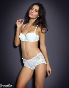 a15731fc8d7d Image is loading AGENT-PROVOCATEUR-RARE-WHITE-LOVE-STRAPLESS-BRA-amp-