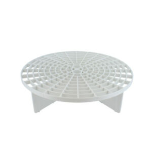 Grit Guard Bucket Insert (White) - Separate Dirt From Your Sponge While Washing