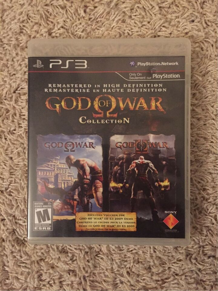 God Of War HD Collection, PS3, action