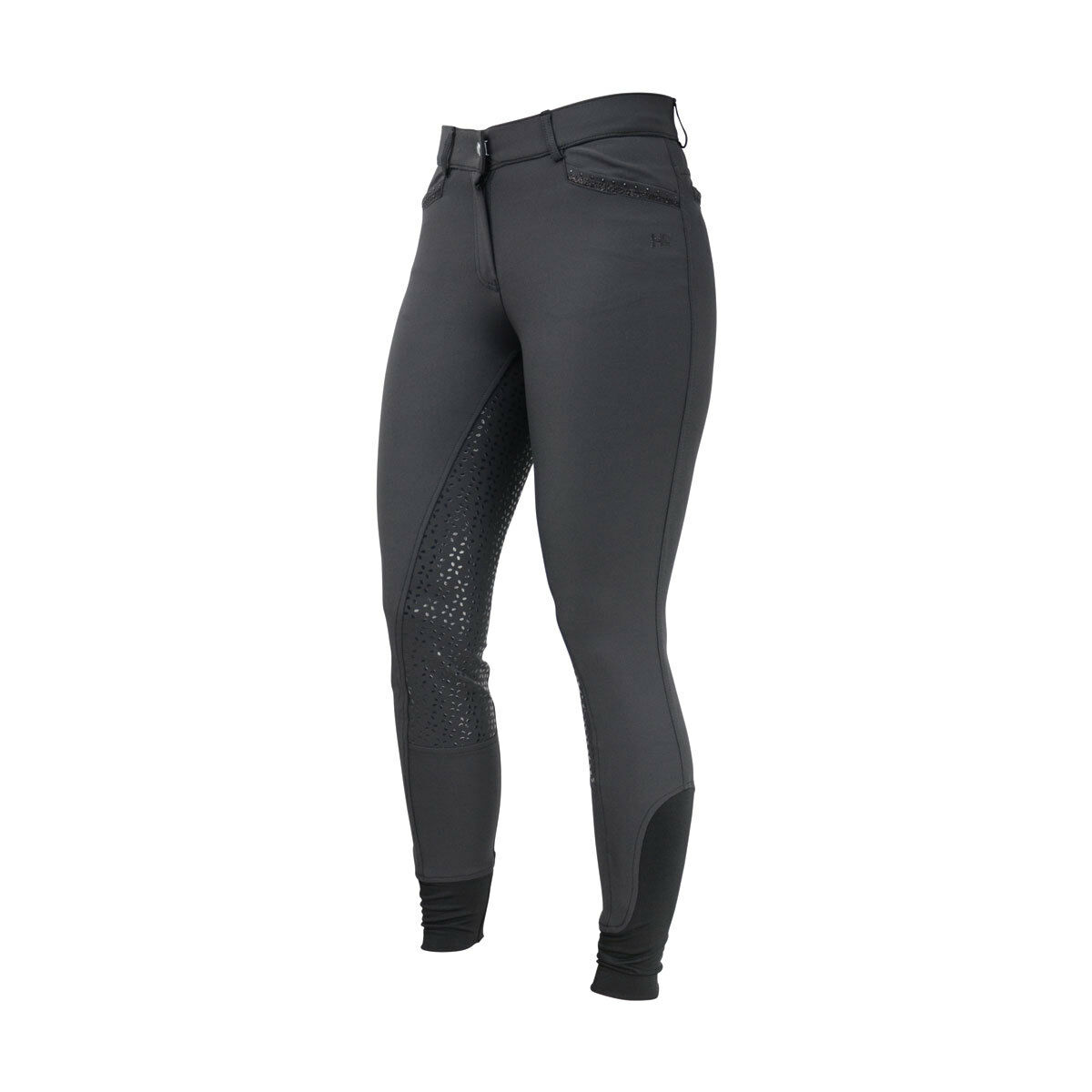 Hyfashion Roka Pantalones  De Montar De Cristal 26  Negro Negro Cristal 13984  barato