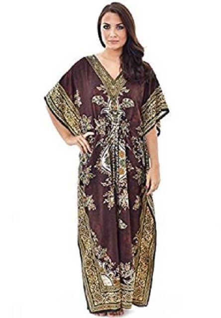0dd833dba63 Long Kaftan Dress Hippy Boho Maxi Plus Size Women Caftan Tunic Dress ...