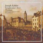 Joseph Eybler: Symphonies 1 & 2; Overture Super Audio CD (CD, Jan-2006, CPO)