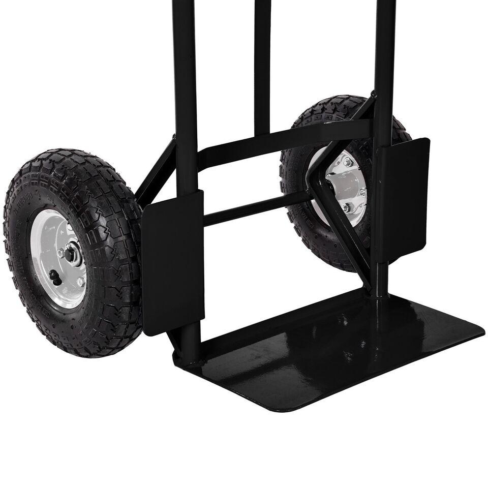 Sækkevogn max. 200kg sort