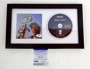 Snoop-Dogg-Signed-Autograph-Neva-Left-CD-Framed-PSA-DNA-COA