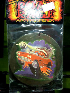 STANLEY-MOUSE-HOT-ROD-CORVETTE-AIR-FRESHENER-weirdo-ed-roth-rat-fink-style-art