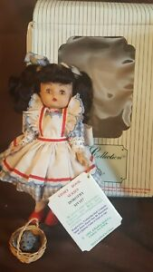 Vintage-Effanbee-Doll-1992-DOROTHY-WITH-TOTO-MV157-Story-Book-Series-Wizard-Oz