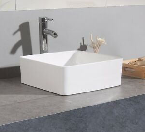 Uk New Modern Square Table Top Wash Basin Designs Small Lav Toilet