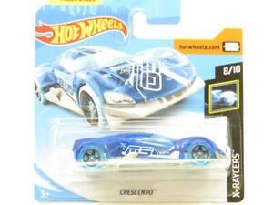 Hotwheels-Cresendo-X-Raycers-Azul-Tarjeta-Corta-59-250-1-escala-64-Nuevo-Sellado