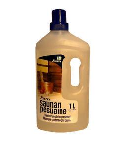 Sauna Reinigung Saunareinigung Desinfektion Holzpflegemittel