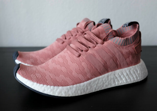 adidas NMD R2 Primeknit Women Shoes Pink BY8782