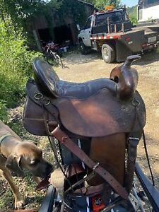 "tucker trail saddle 18.5"""