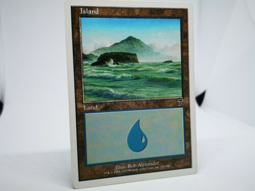 - NM 4x Details about  /Island Set - Seventh Edition 7th #332,#333,#334,#335