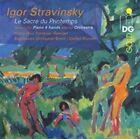 Stravinsky: Le Sacre du Printemps - Version for Piano 4 hands and for Orchestra Super Audio Hybrid CD (CD, Jul-2015, MDG Gold)