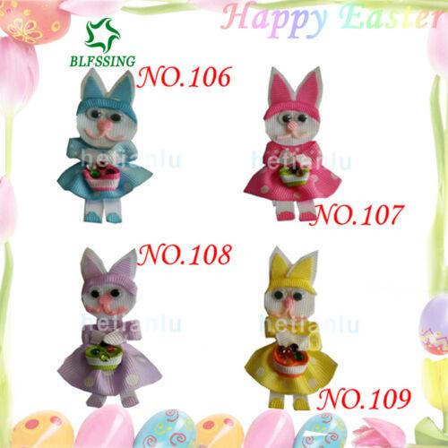 50 Fashion Hair Clip Easter Flower Spring Rabbit Chicken Egg Mermaid Hat Unicorn