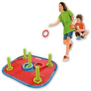 Diggin PopOut Ring Toss Outdoor Game Kids Yard Play Fun Child Gift