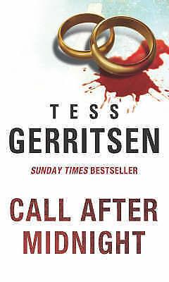 """""""AS NEW"""" Gerritsen, Tess, Call After Midnight (MIRA) Book"""