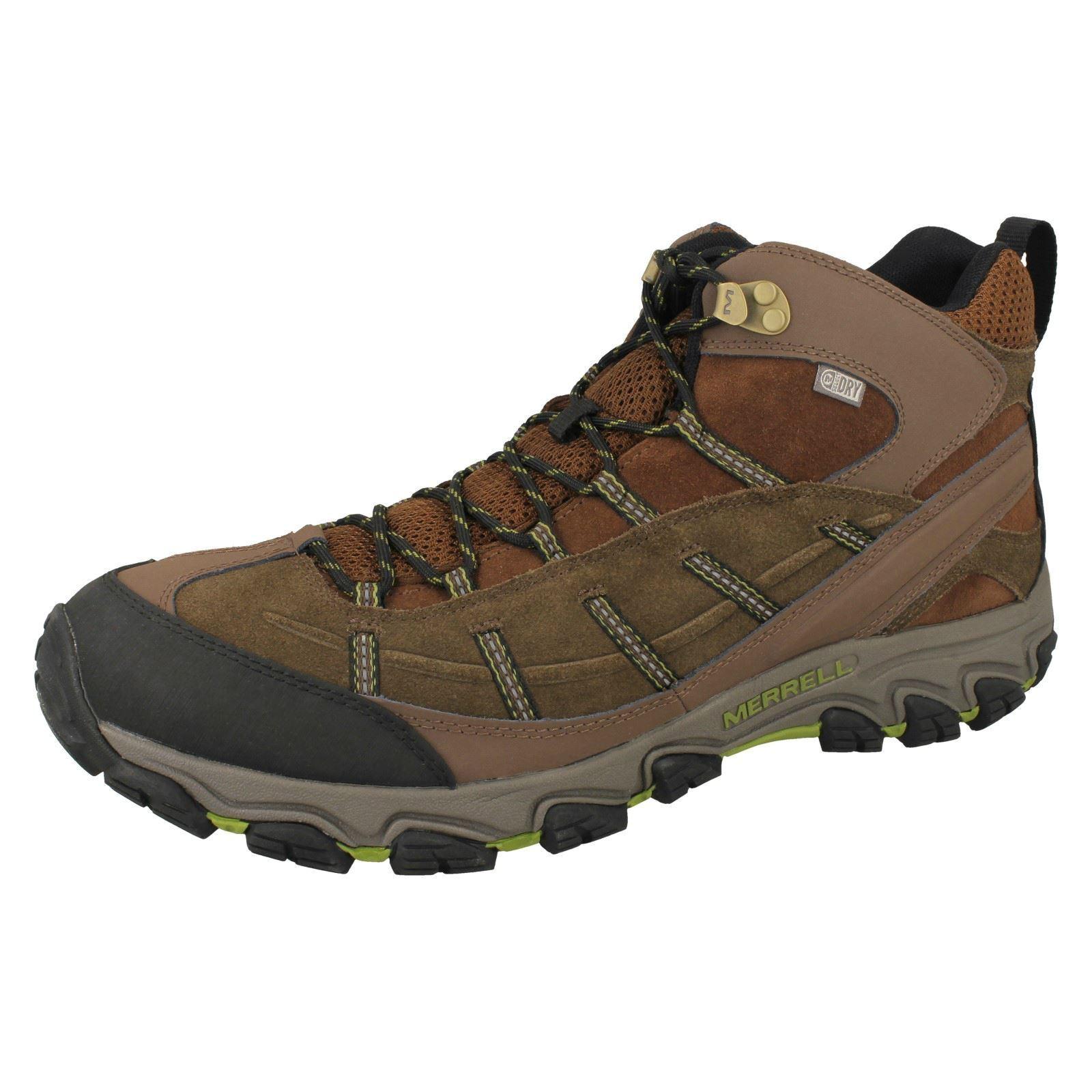 Mens Merrell Waterproof Walking Boots