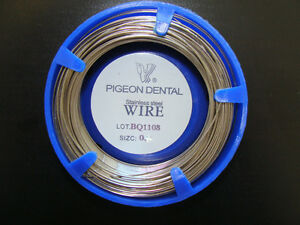 Stainless Steel Orthodontic Wire | Dental Orthodontic Wire Stainless Steel 0 7 Mm 100 Grs 32 2 Mts 501