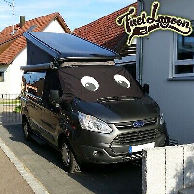 UK Custom Covers SW316BLACKAD2 Luxury Front Windscreen Wrap Cover BLACK