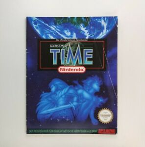Illusion of Time – Nintendo SNES 1995 - Spieleberater / Strategy Guide