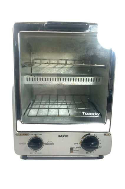 Sanyo Super Toasty SK-7S Space Saving Toaster Oven