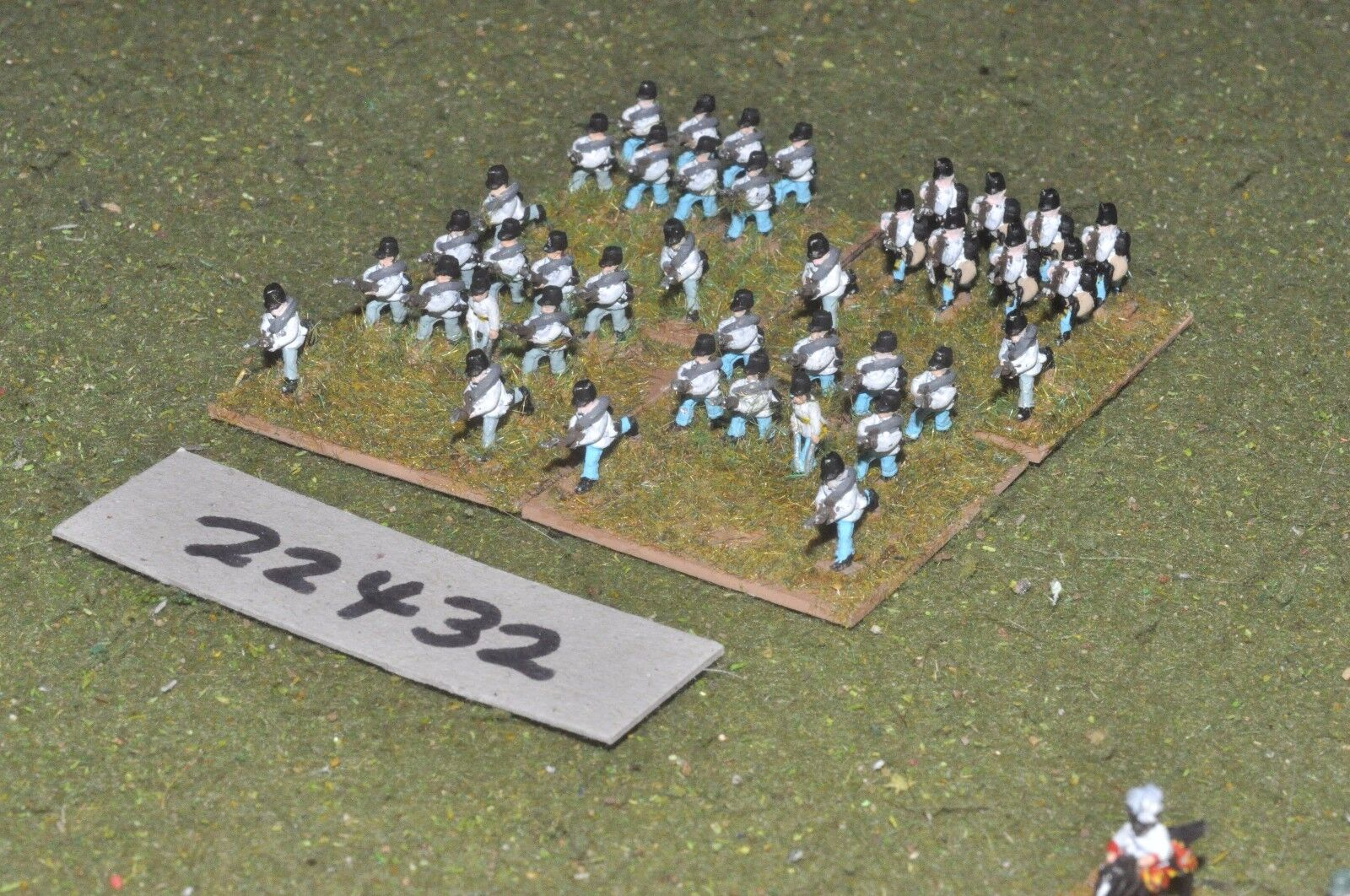 10mm 19th century   austrian - line 40 figs inf - inf (22432)