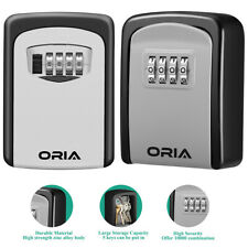 Wall Mount 4ampdigit Combination Key Lock Storage Organizersafe Security Box Case