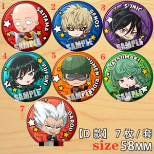 """Anime One Piece badge Pin button Schoolbag Backpack Decorate 5.8CM 2.3/"""""""