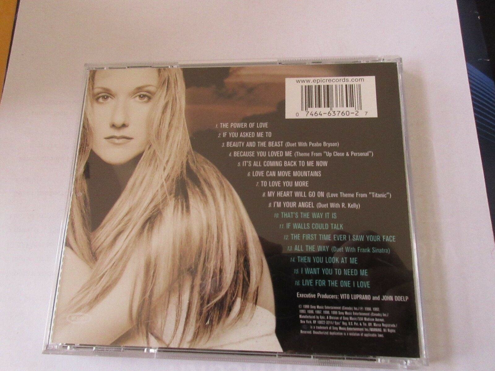 Celine ,Dion , All The Way .....A Decade of Song , CD