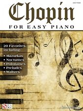 Chopin for Easy Piano Sheet Music Composer Collection Book NEW 002501483