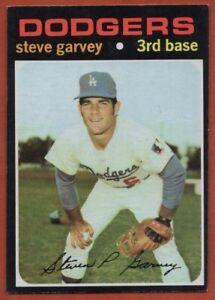 1971-Topps-341-Steve-Garvey-NEAR-MINT-Rookie-RC-Los-Angeles-Dodgers-FREE-S-H