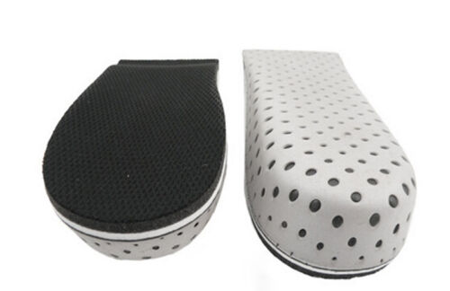 Insole Heel Lift Insert Shoe Pad Height Increase Cushion Elevator Taller cuBTPO