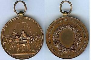 Enthousiaste Gymnastique - Société Gymnastique Et Instruction Militaire D=38,7mm Vernon RéTréCissable