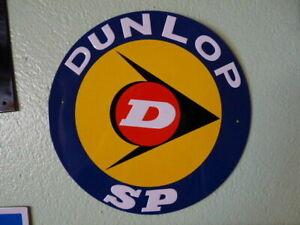 PB14F-PLAQUES-PUBLICITAIRE-tolee-L-039-age-d-039-or-de-l-039-Automobile-DUNLOP-21-cm