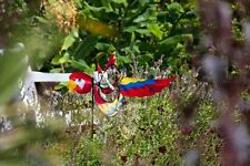 HQ Windspiel Paradise Critter Parrot Gartenwindrad 42x100 cm wetterfest Erdanker